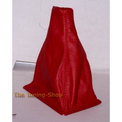 ROVER 200 or 25 1996-2002 GEAR GAITER DARK RED LEATHER NEW