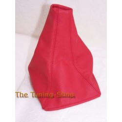 ROVER 200 or 25 96-02 GEAR GAITER RED LEATHER