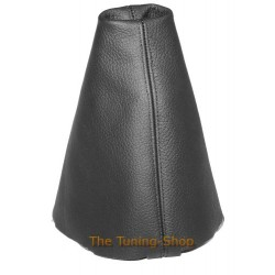 AUDI A3 S3 00-03 GEAR GAITER SHIFT BOOT BLACK LEATHER