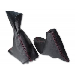 Gear and Handbrake Gaiter For BMW F30 F31 2012-15 with Plastic Frame Leather