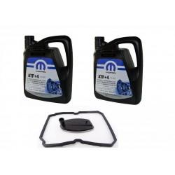 12l ATF+4 & Oil Filter Kit For 5 Speed AT T8845 VIPER (code NAG1) FK326 FT1214
