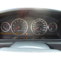HYUNDAI SONATA 93-98 ALUMINIUM GAUGE RINGS SURROUNDS NEW