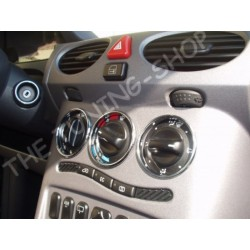 MERCEDES A CLASS W168 97-04 CHROME HEATER SURROUNDS RINGS NEW