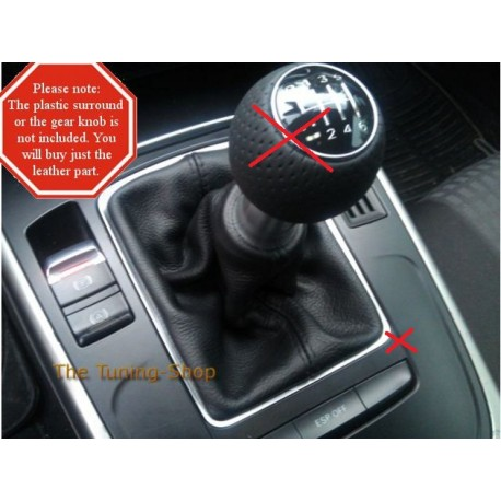 FOR AUDI A B GEAR STICK GAITER REPLACEMENT SHIFT BOOT - Audi car gear