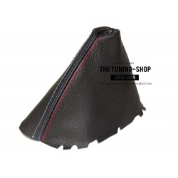 Gear Gaiter For BMW 3 Series E46 1999-2005 Automatic Genuine Black Leather Choice of Stitching