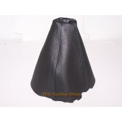 AUDI CONVERTIBLE CABRIO GEAR GAITER SHIFT BOOT BLACK LEATHER