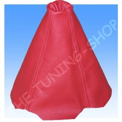 AUDI CONVERTIBLE CABRIO GEAR GAITER SHIFT BOOT RED LEATHER