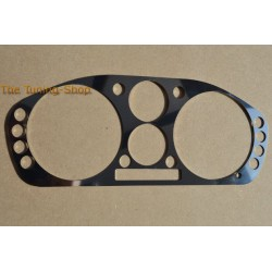 FOR MITSUBISHI FTO 94-00 BEZEL SURROUND FOR SPEEDO CLUSTER GAUGE DIAL FASCIA POLISHED STAINLESS STEEL NEW
