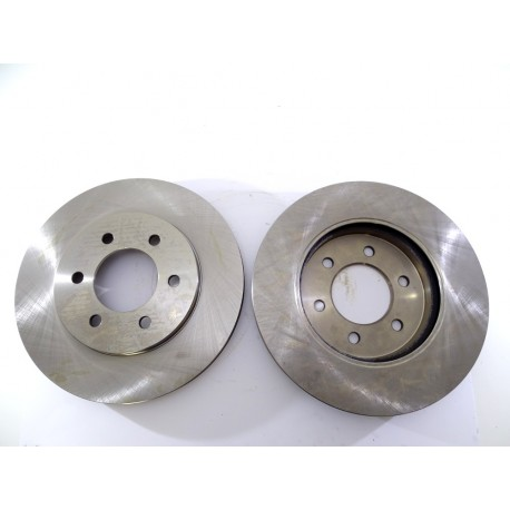 2x Brake Disc Rotor Front Drilled 54109 CBK For FORD F-150 LINCOLN MARK LT