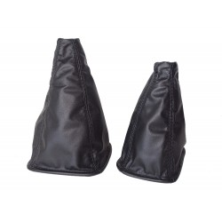 FOR SUZUKI GRAND VITARA BLACK LEATHER GEAR GAITER