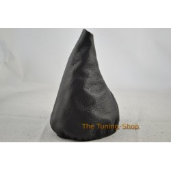 FOR BMW E28 GEAR GAITER SHIFT BOOT BLACK GENUINE LEATHER
