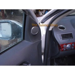 VAUHALL OPEL ASTRA H 05-10 SPEAKER AIR VENT MIRROR LIGHTS SWITCH RINGS SET OF 6 NEW