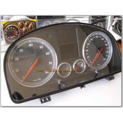 VW CADDY 2003-2010 ALUMINIUM TRIM SURROUNDS CHROME DIAL RINGS NEW