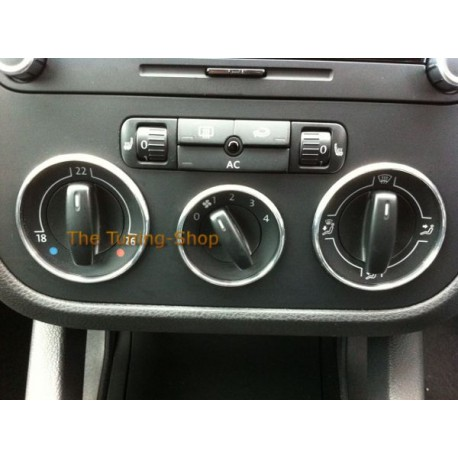 for vw golf mk5 jetta chrome heater surrounds 3 x rings for manual a rh tuning shop co uk jetta 3 workshop manual jetta 3 service manual pdf