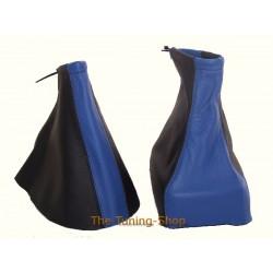 VAUXHALL OPEL ZAFIRA A 99-05 GEAR HANDBRAKE GAITER BLACK + BLUE