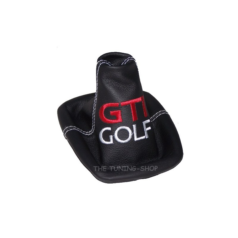 vw golf 4 mk4 gear gaiter shift boot embroidered gti golf. Black Bedroom Furniture Sets. Home Design Ideas