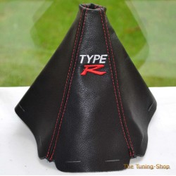 HONDA CIVIC 1992-1995 GEAR GAITER EMBROIDERY TYPE R RED STITCHING