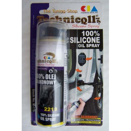 50ml 100% SILICONE OIL SPRAY FOR CAR SEALS MADE OF RUBBER LEATHER PLASTIC  RUNNERS SLIDING DOORS HINGES NEW TECHNICQLL - The Tuning Shop Ltd