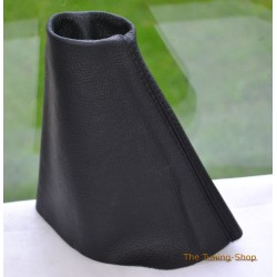 RENAULT MEGANE COUPE MK1 MK2 BLACK LEATHER GEAR GAITER