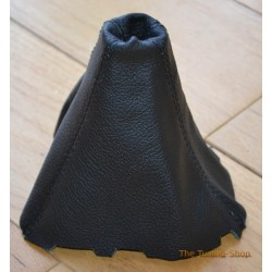 FORD FOCUS MK3 2011-onwards GEAR GAITER BLACK LEATHER