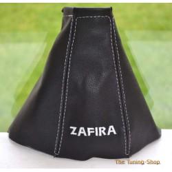 VAUXHALL ZAFIRA A 1999-2005 GEAR GAITER embroidery ZAFIRA WHITE STITCHING