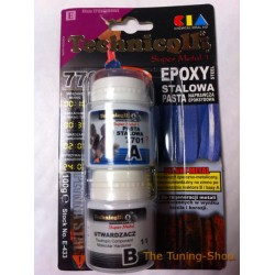 1 x EPOXY STEEL PASTE FOR REGENERATION OF METALS CAST ALUMINIUM STEEL BRONZE etc 100g NEW TECHNICQLL