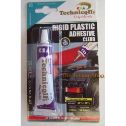 1 x 20ml STRONG CLEAR ADHESIVE GLUE - HARD PLASTIC ABS TR EVA PERSPEX ACRYLIC GLASS TECHNICQLL NEW
