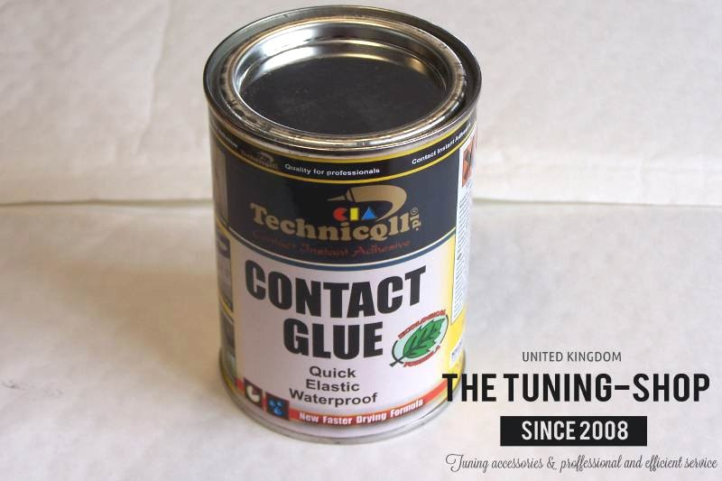 how to make rubber glue