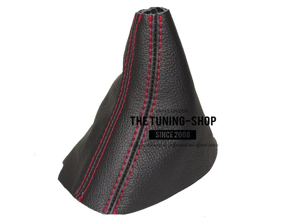pour audi a5 07 15 automatique dsg soufflet levier de vitesse cuir surpiq rouge ebay. Black Bedroom Furniture Sets. Home Design Ideas