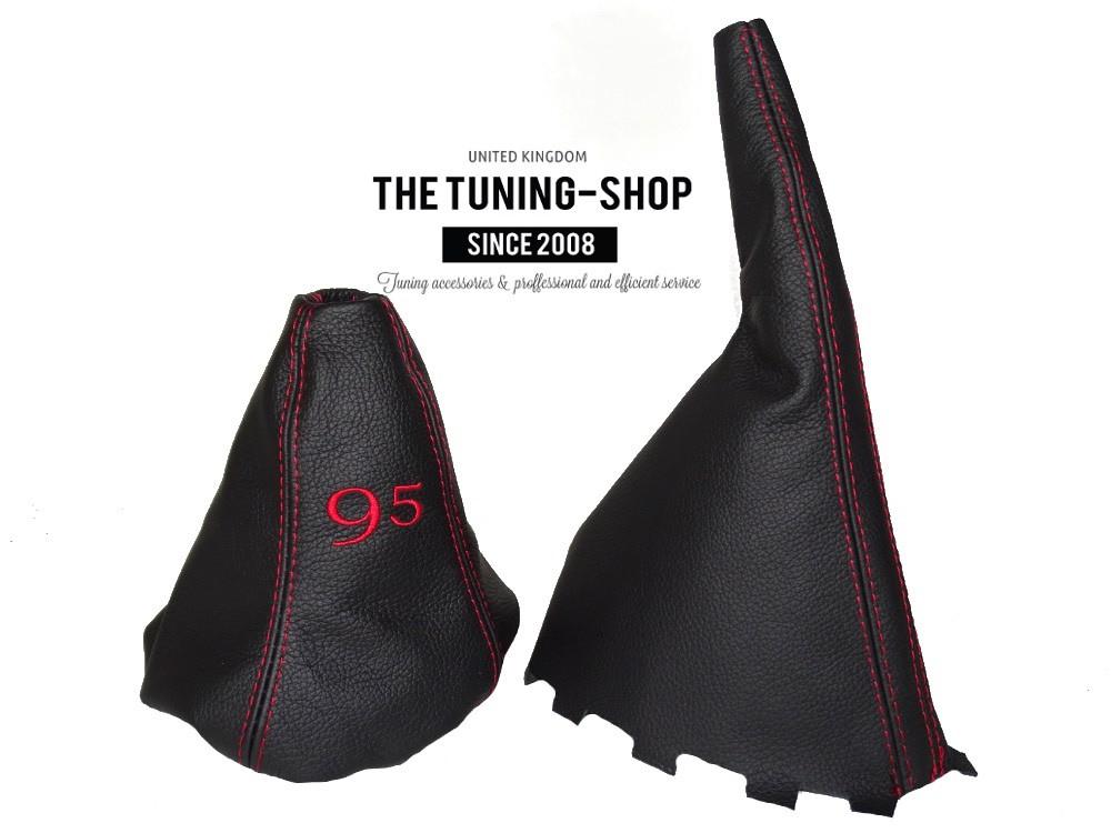 Gear /& Handbrake Gaiter Black Genuine Leather
