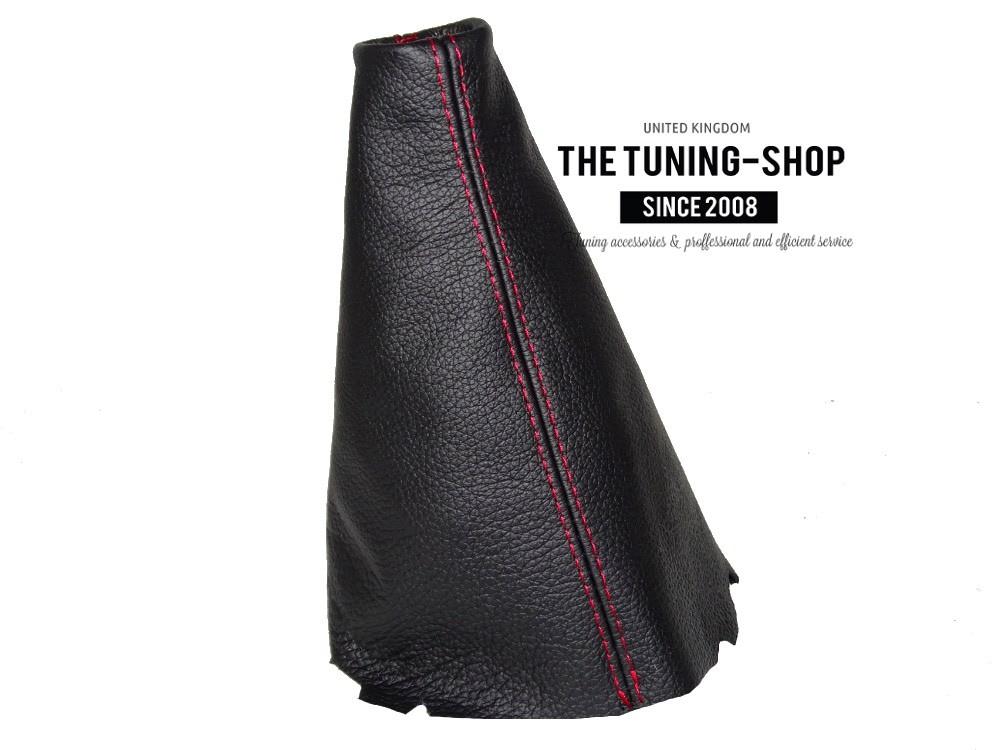 KIA Picanto gear gaiter cuir véritable noir