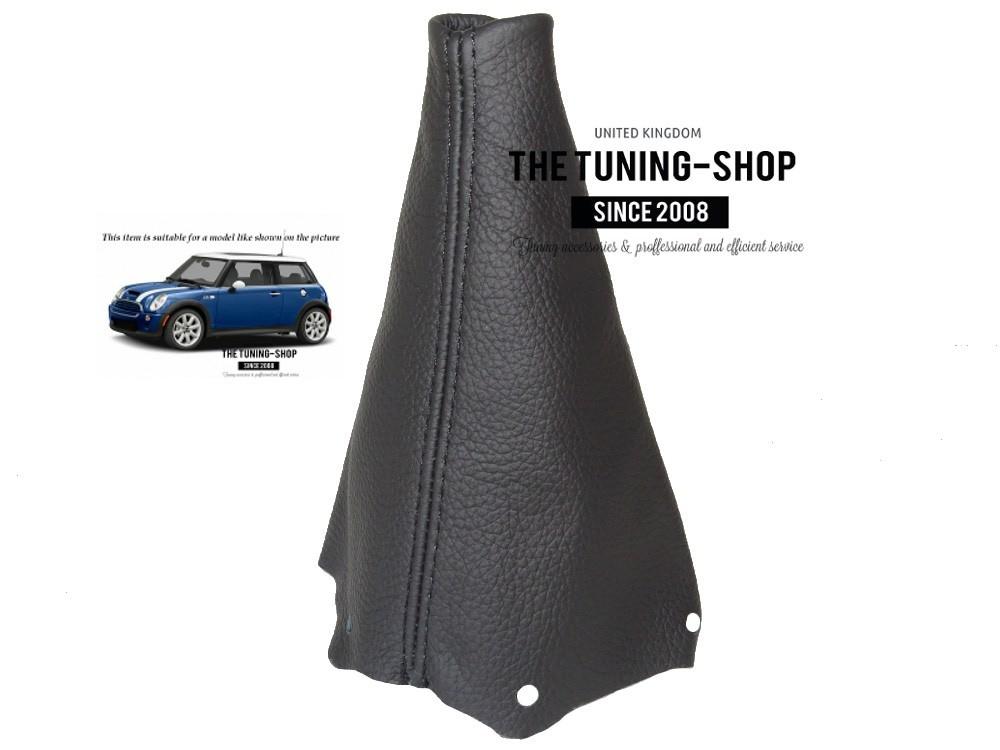 BLACK SUEDE FITS BMW MINI R50 R53 GEAR COVER GAITER 2001-2006